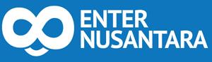 enter nusantara logo white